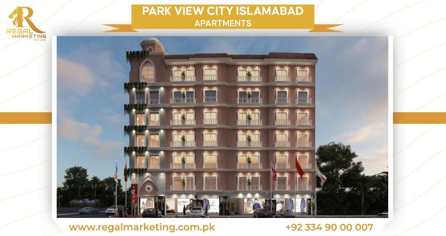 Apartments in park view city Islamabad