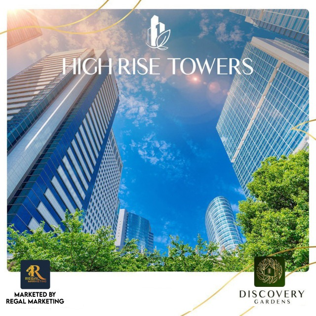 high rise tower in discovery garden islamabad