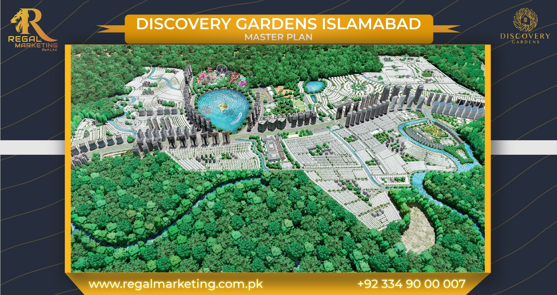 Master Plan of Discovery Gardens Islamabad