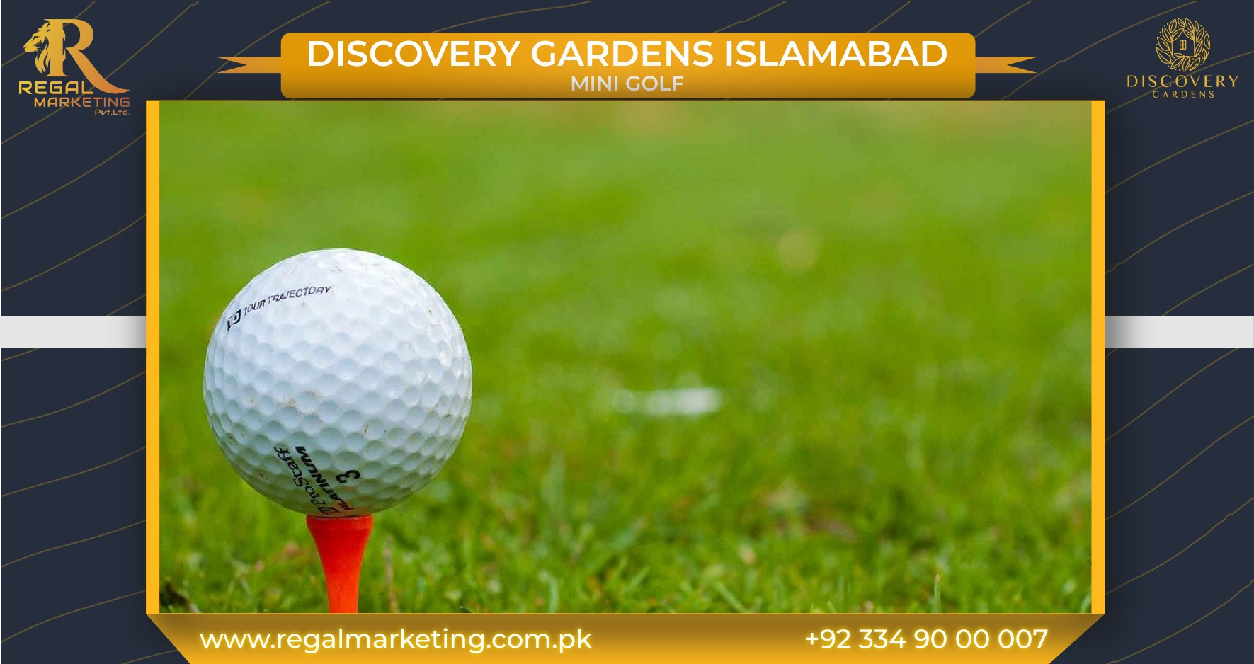Mini Golf at Discovery Gardens Islamabad
