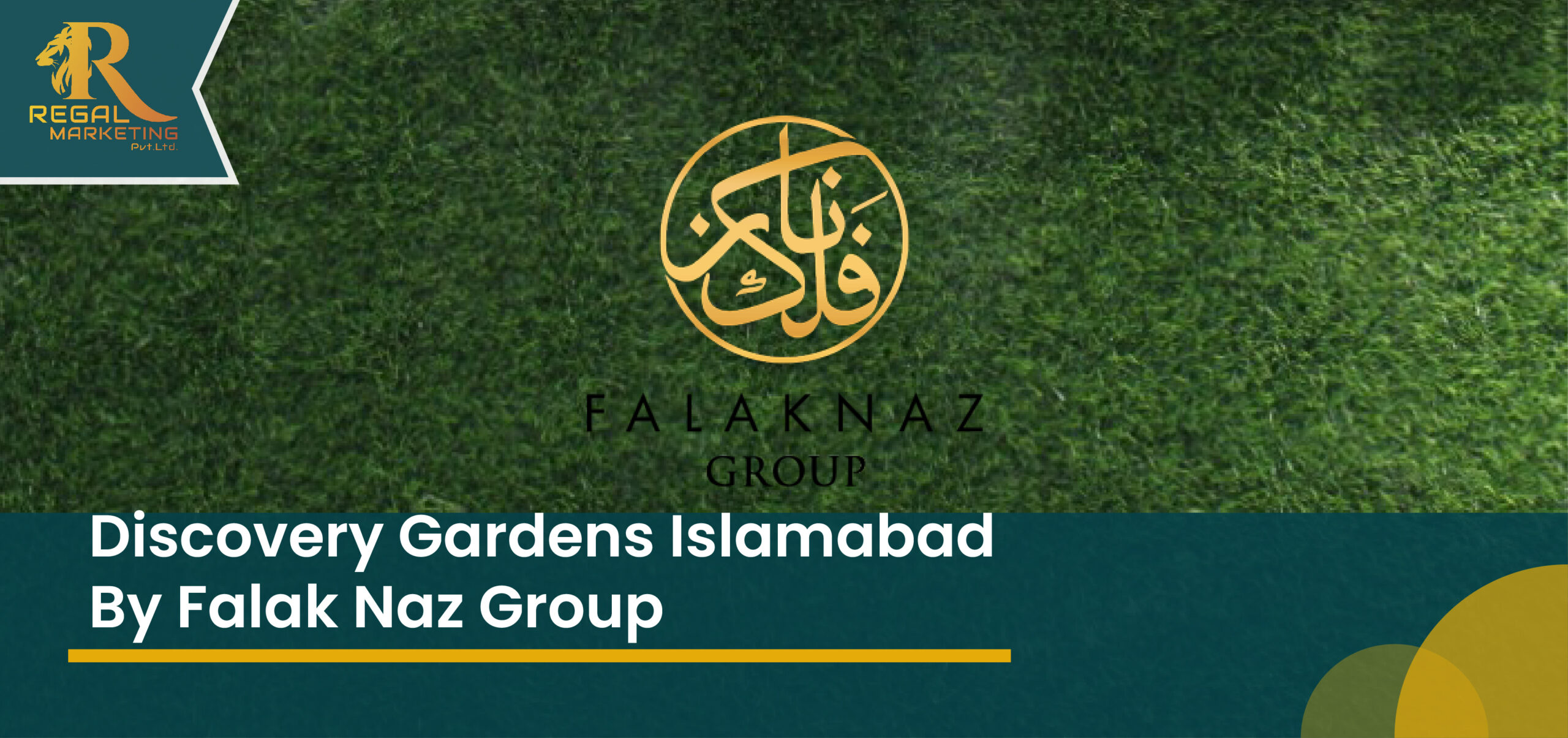 Discovery Gardens Isb by Falak Naz Group New