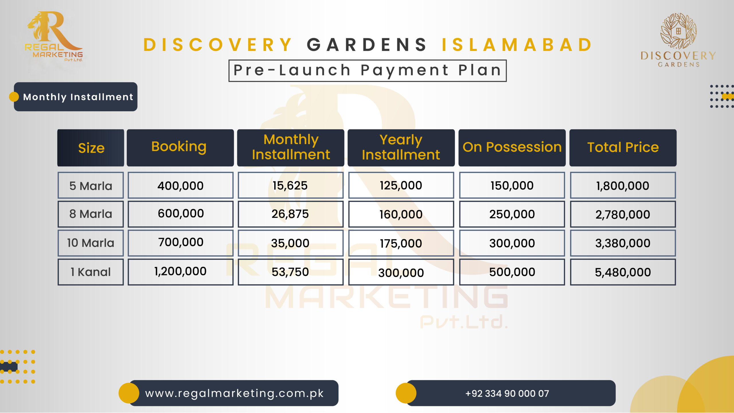 Discovery Gardens Islamabad Pre-launch.png