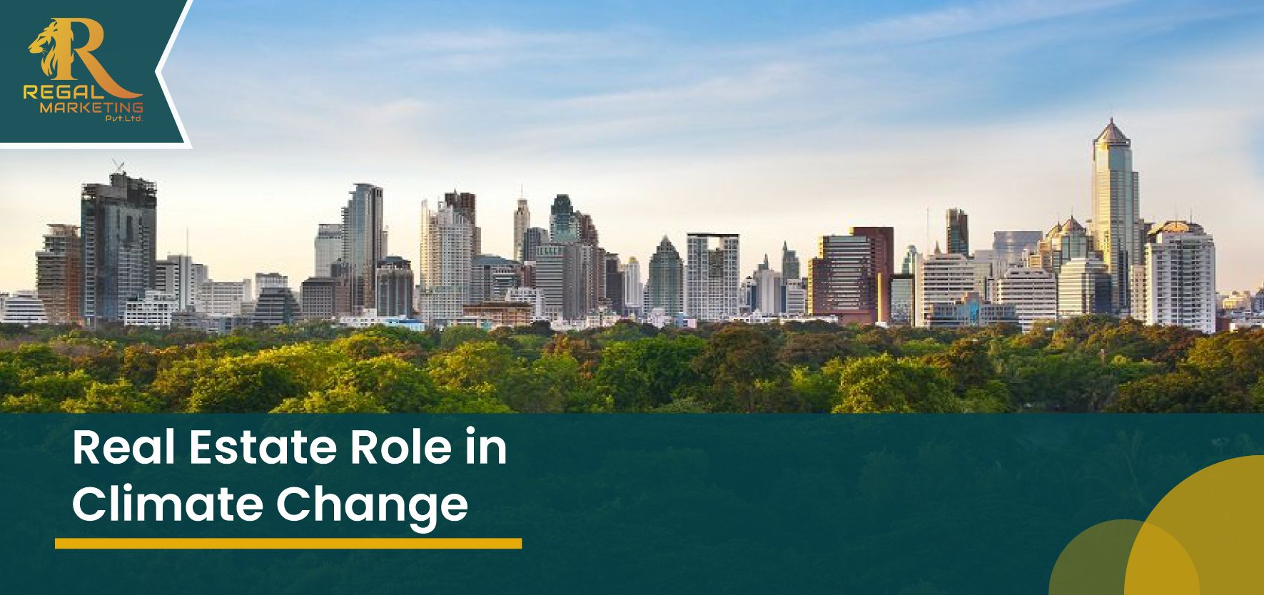 Real Estate Role in Climate Change